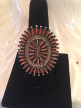 Zuni Red Spiny Oyster Ring