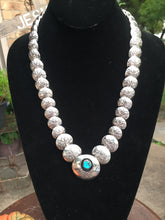 """Reversible Pillow Bead necklace"""