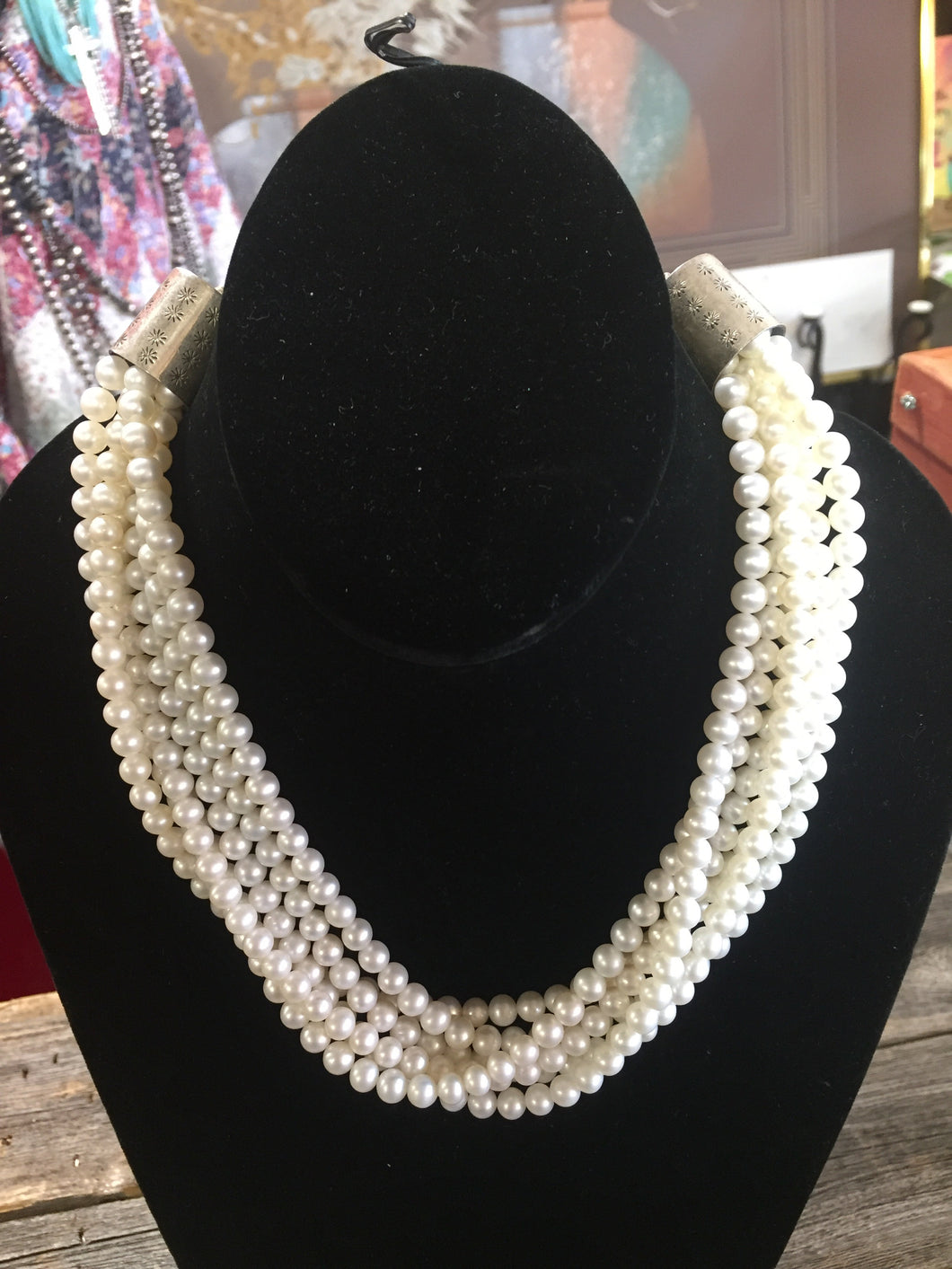 6 stand fresh water Pearls
