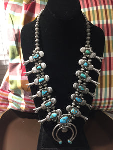 """The Grit"" Vintage Navajo Squash necklace"