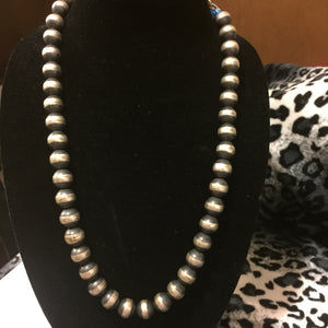 Navajo pearls necklace 24 inches