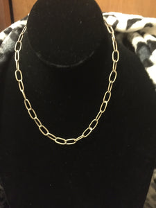 very light Sterling Silver chain necklace