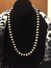 20 inch Navajo Pearls 12 mm