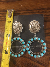 The Concho buttons with hoops