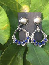 """The Lapis lover"" earrings"