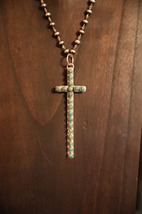 Kingman Cross Pendant