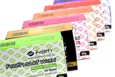 Froth Surf Wax 4 Bar Packs