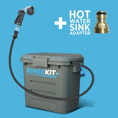 RINSEKIT PLUS (2 GALLONS - SPRAYS UP TO 6 MINUTES)