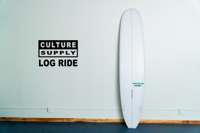 Log Ride Surfboard by Culture Supply Co.