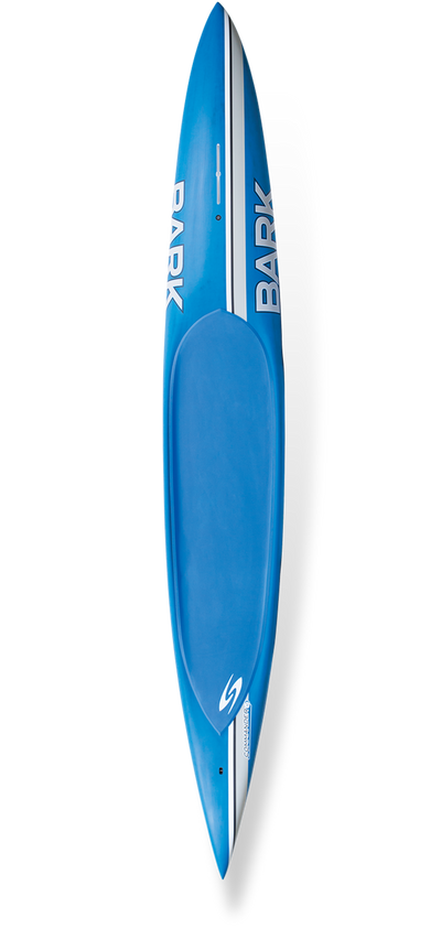 Stock 12ft Wide Tail Commander - Ghost Carbon - 175 - 225lb Paddler / Blue Color
