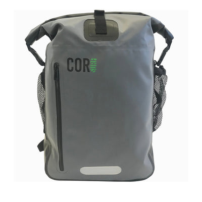 40L Grey Waterproof Backpack
