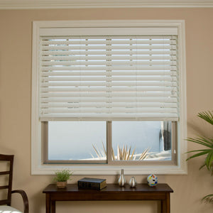 Cordless Smartprivacy Faux Wood Blinds Jmr Blinds