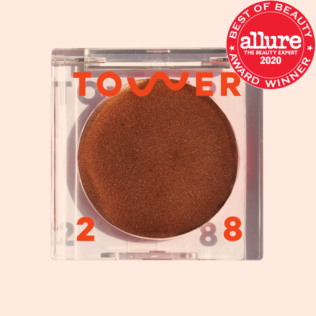 Tower 28 Beauty Bronzer Illuminating Cream Bronzer in shade Best Coast