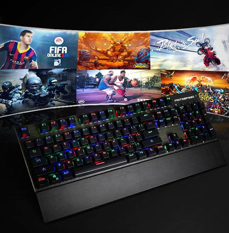 Mechanical Pro CK108 Gaming Keyboard - ETech Gadgetz