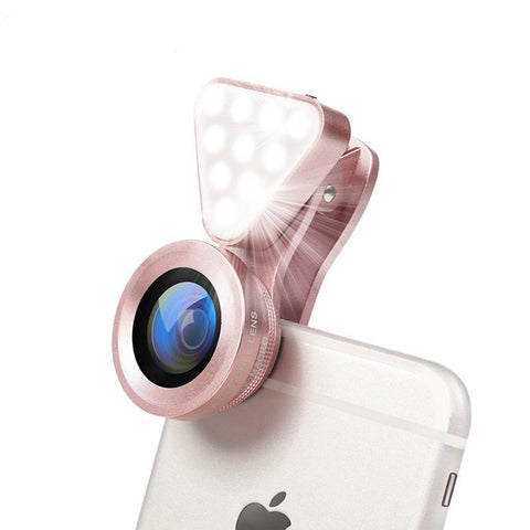 Luxury LED Selfie Flash Light