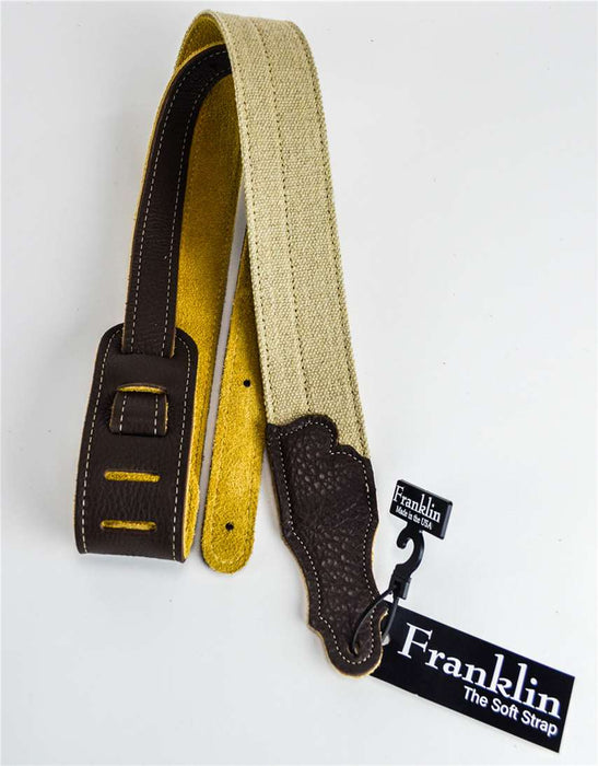 "Franklin H2A-CH 2"" Natural Hemp Strap"