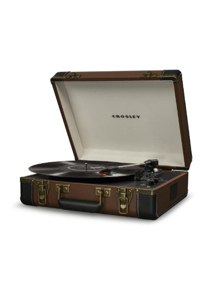 Crosley CR6019D-BR Bluetooth Executive USB Turntable - Brown