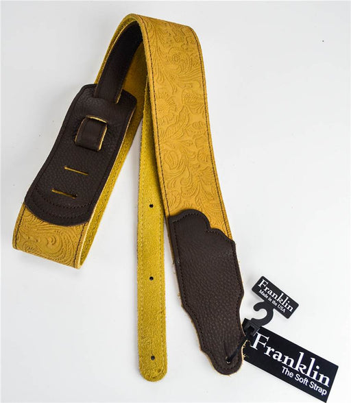 "Franklin FSSE-H-CH 2.5"" Honey Embossed Strap"