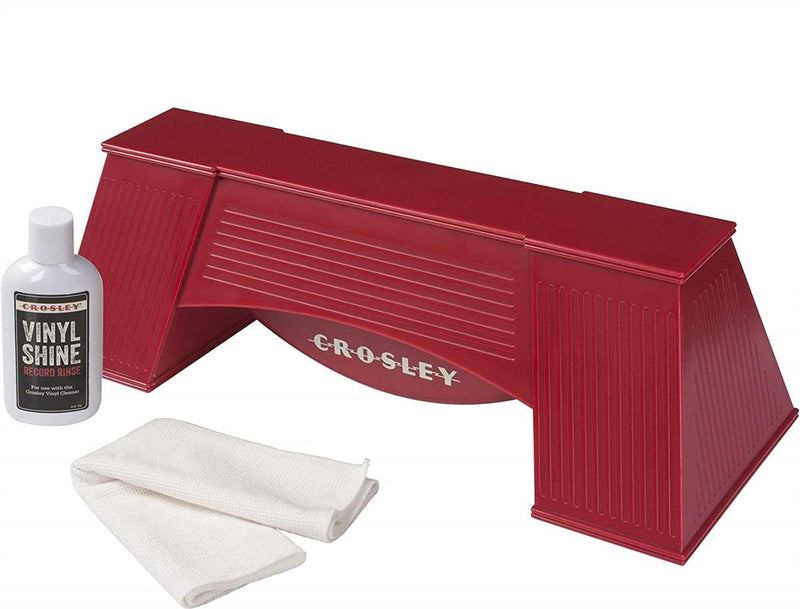 Crosley AC1001A-RE Vinyl Cleaner - Red