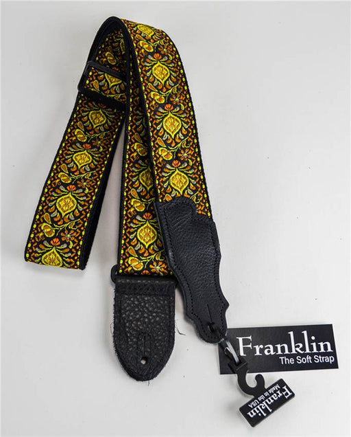 "Franklin F1-Y 2"" Yellow Retro Folk Strap"