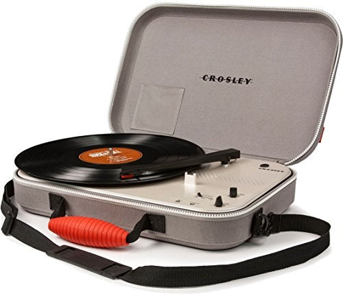 Crosley CR8016A-GY Messenger Turntable - Gray