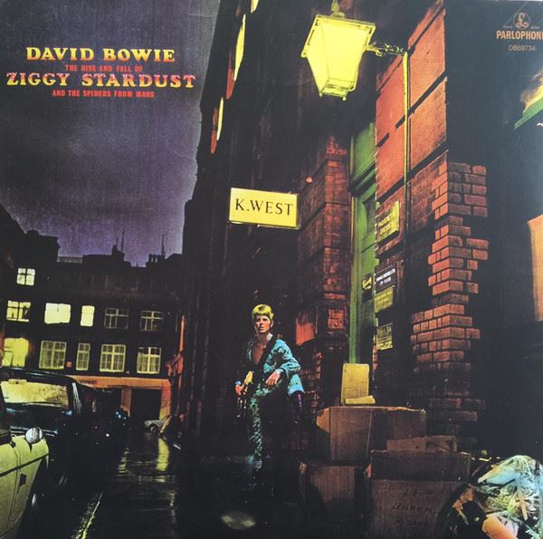 David Bowie - The Rise and Fall Of Ziggy Stardust And The Spiders From Mars [LP] (180 Gram, 2012 Remaster)