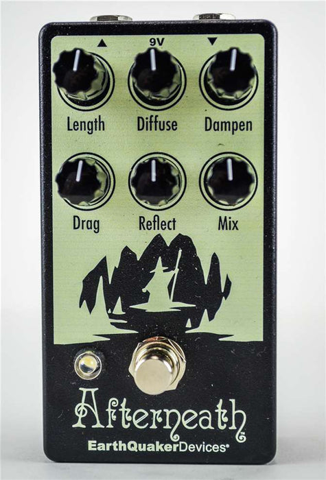 EarthQuaker Devices Afterneath V2 Otherworldly Reverberator