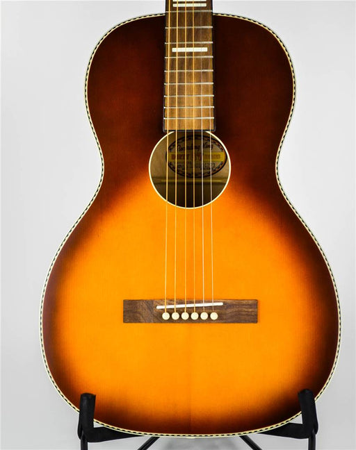 Recording King RPS-7 30's Series 7 Single 0 Parlor Acoustic Guitar - Tobacco Sunburst
