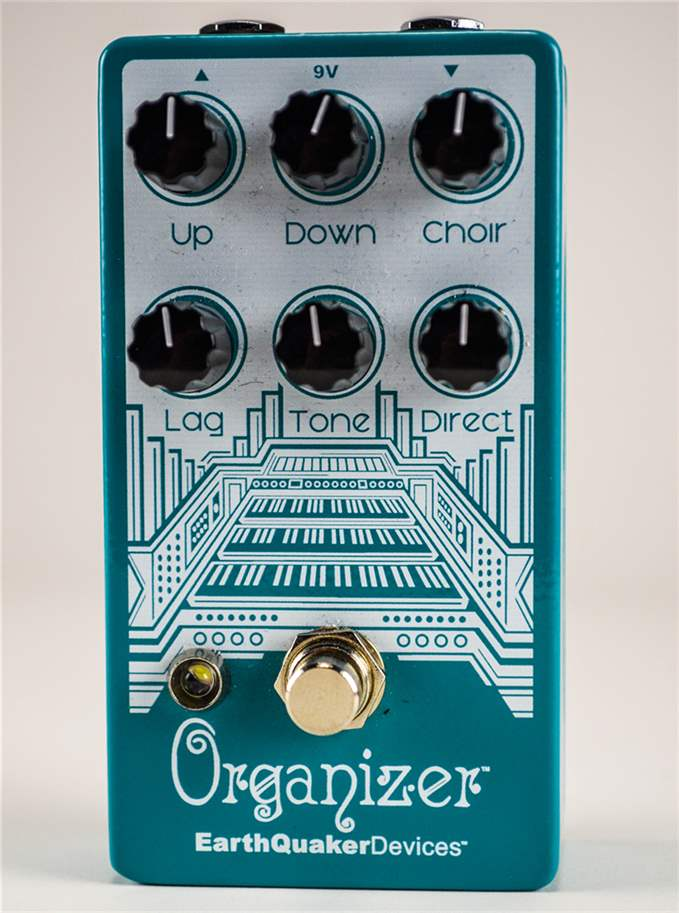 EarthQuaker Devices Organizer V2 Polyphonic Organ Emulator