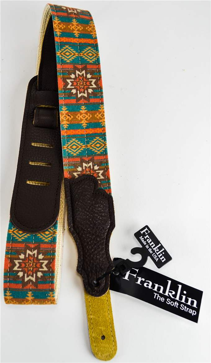 "Franklin CD1-T-CH 2"" Turquoise Old Aztec Strap"