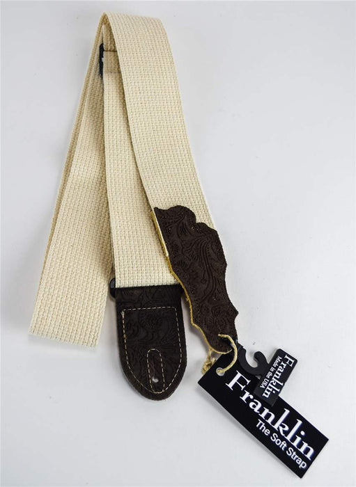 Franklin 1-N-ECH Natural/Chocolate Cotton Strap