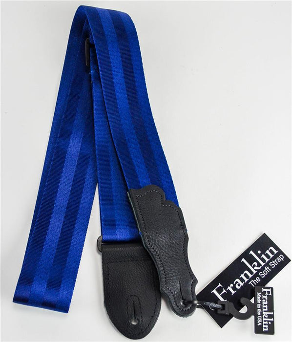 Franklin 0-BL-BK Blue Nylon Seatbelt Strap