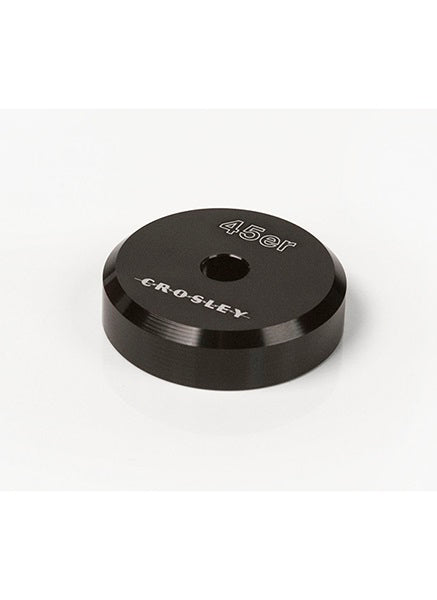 Crosley CR9100A-BK 45'er Aluminum Adaptor - Black