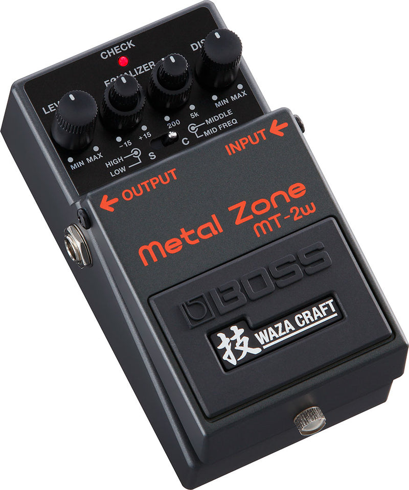 Boss MT-2W Metal Zone Pedal Waza Craft Left Side
