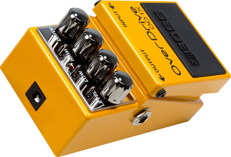 Boss OD-1X Overdrive Pedal Special Edition Angle Back