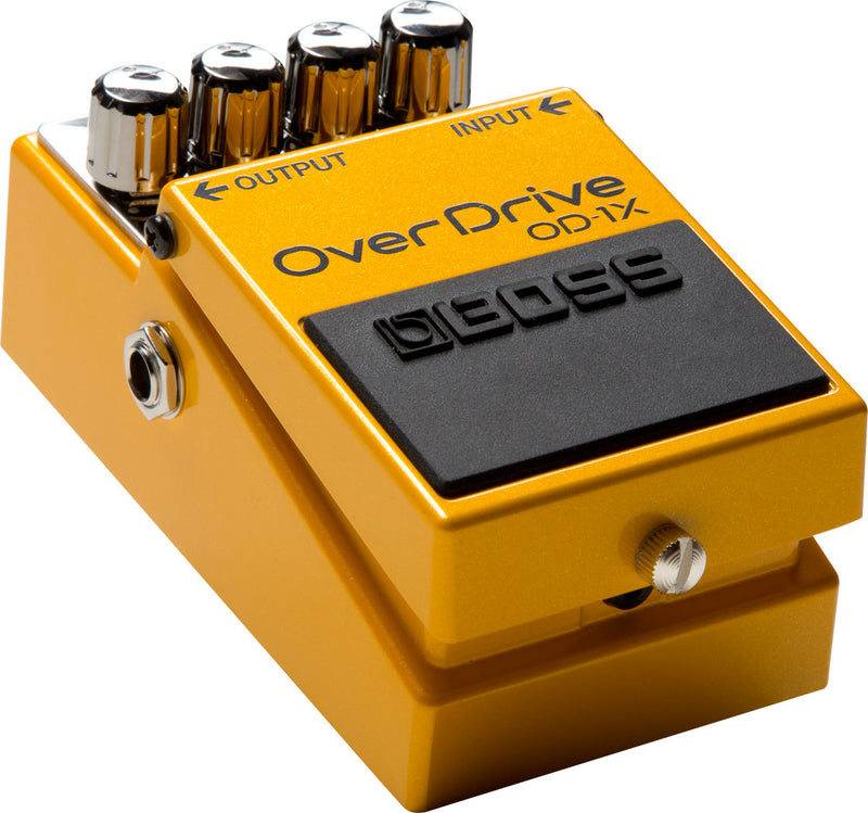 Boss OD-1X Overdrive Pedal Special Edition Angle Left