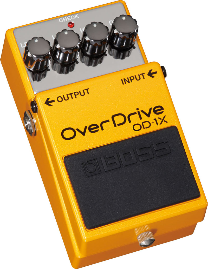 Boss OD-1X Overdrive Pedal Special Edition Left Side