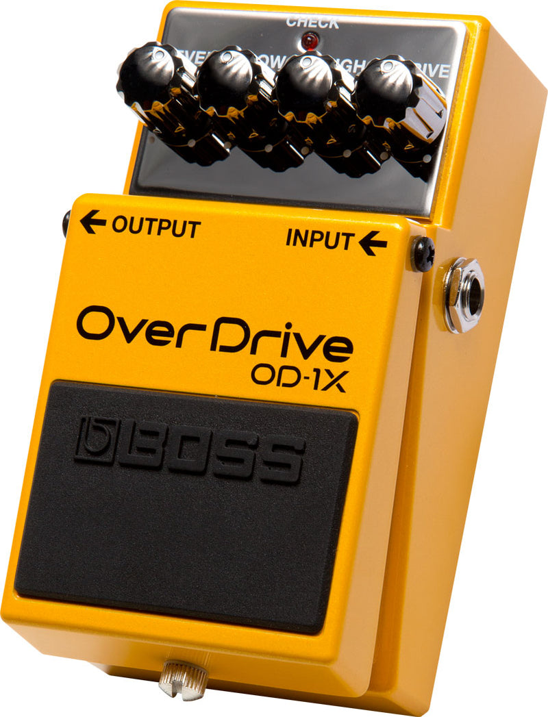 Boss OD-1X Overdrive Pedal Special Edition Right Side