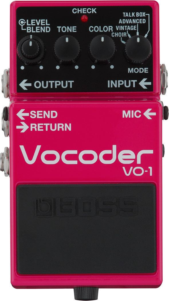 Boss VO-1 Vocoder Vocal Effects Guitar Pedal