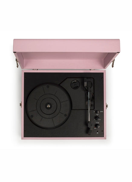 Crosley CCR8017A-AM Voyager Portable Turntable - Amethyst Open