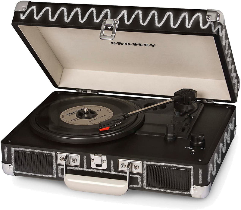 Crosley CR8005D-CB Cruiser Deluxe Turntable with Bluetooth - Chalkboard