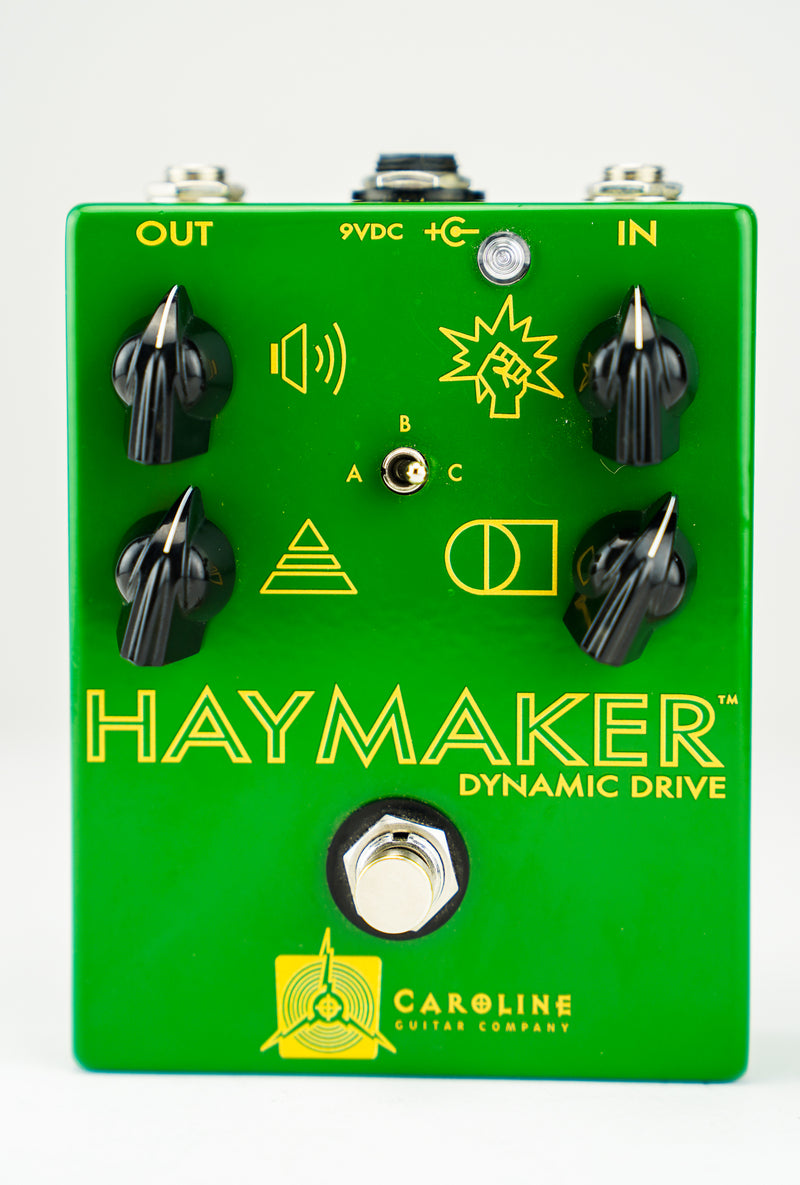 Caroline Guitar Co. Haymaker Dynamic Drive Overdrive Pedal (USED) (SN:355)