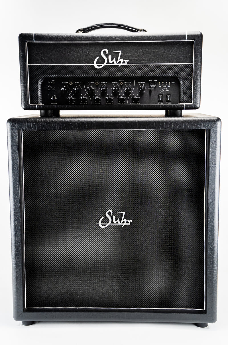 Suhr PT15IR 120V Pete Thorn Signature Amp Head w/ Slip Cover & Footswitch