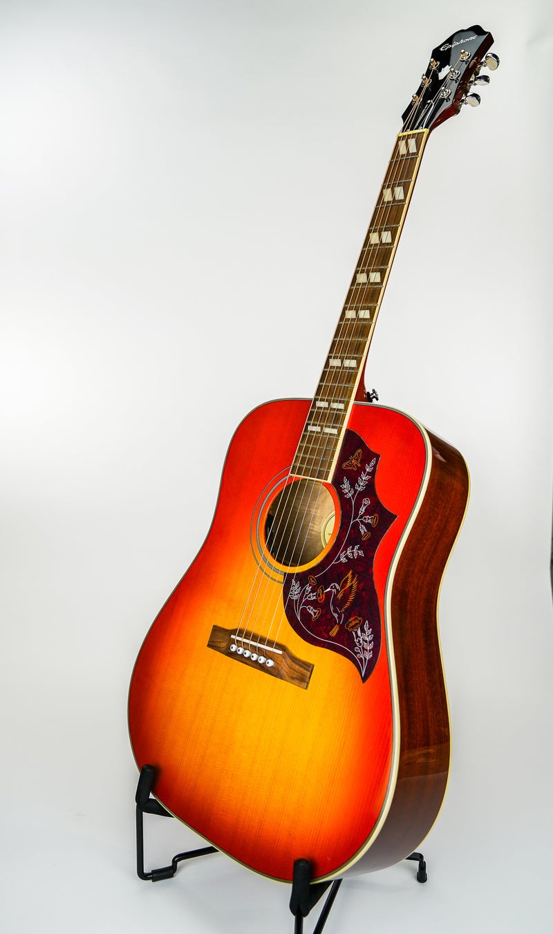 Epiphone Hummingbird Pro Acoustic Guitar - Faded Cherry