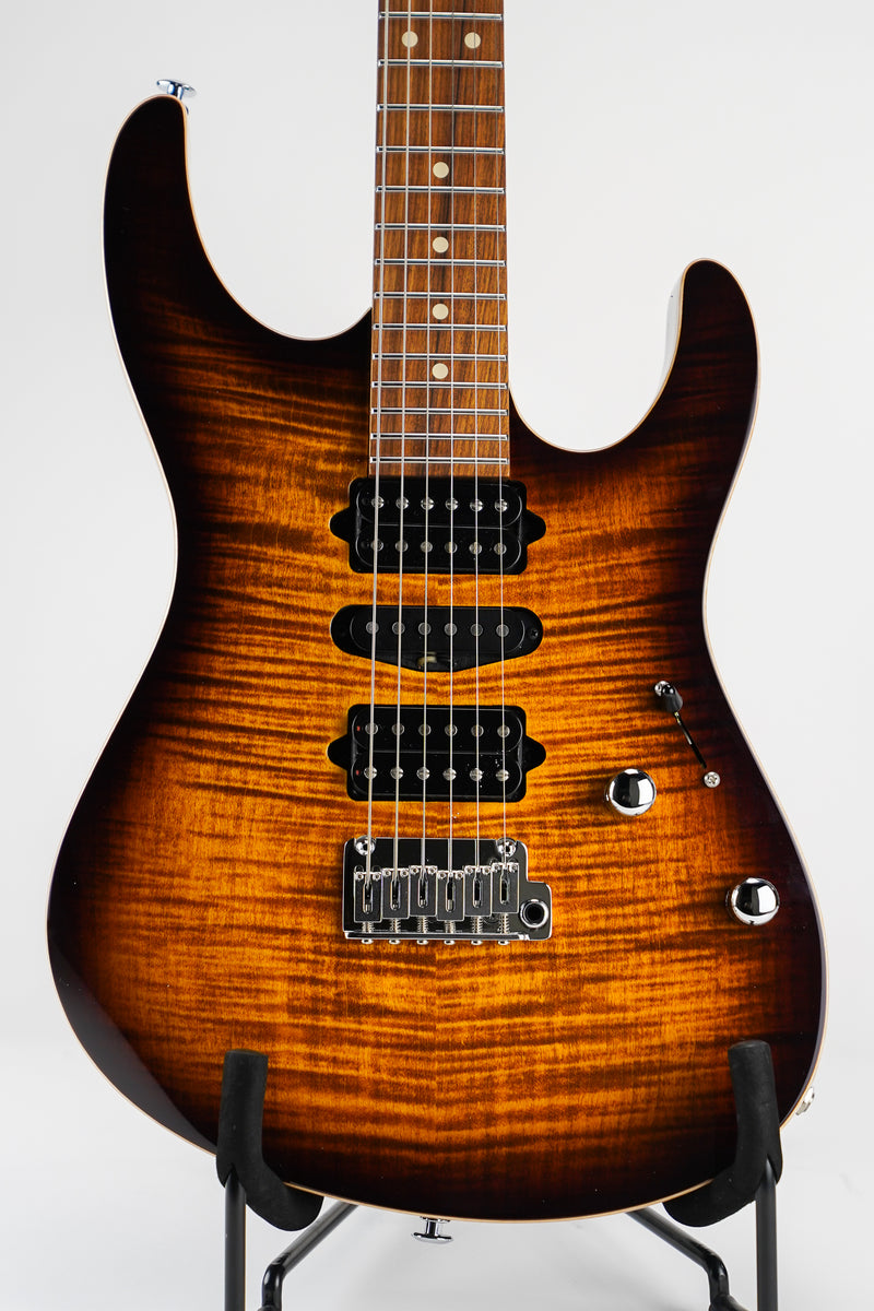 Suhr 01-MDP-0050 Modern Plus Bengal Burst w/ Deluxe Gig Bag