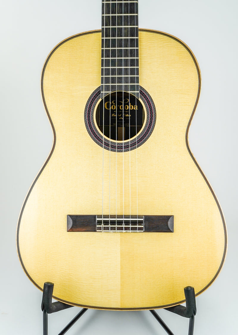 "Cordoba ""Hauser"" Limited Classical Nylon String Guitar Front"