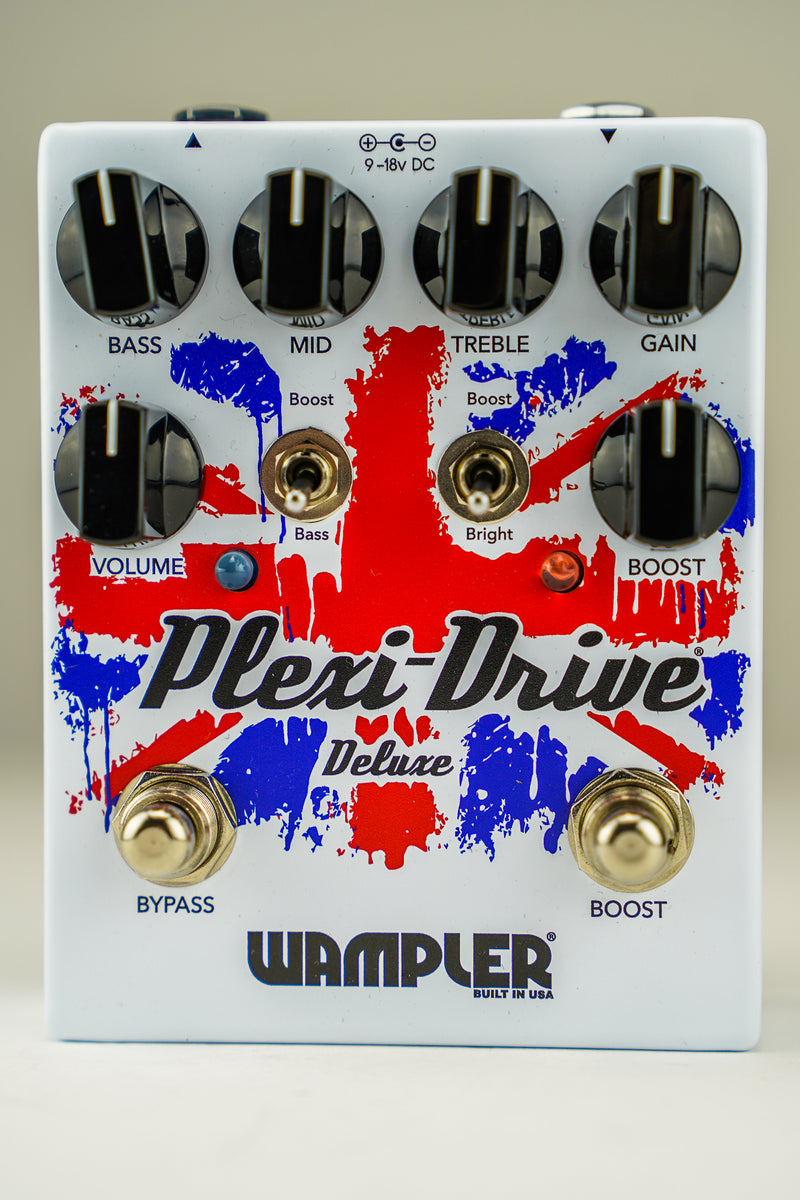 Wampler Plexi-Drive Deluxe Wampler British Overdrive Pedal