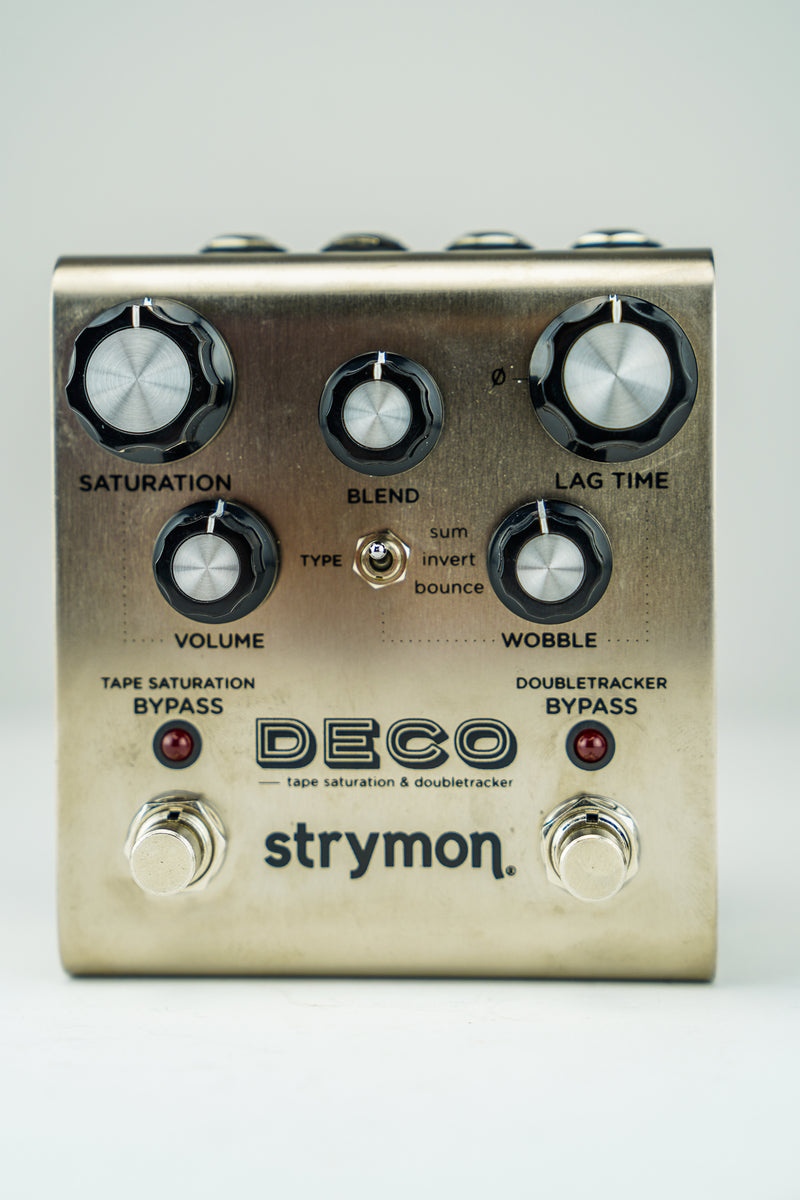 Strymon Z12A-5DEC Deco Tape Saturation/Doubletracker Delay Pedal