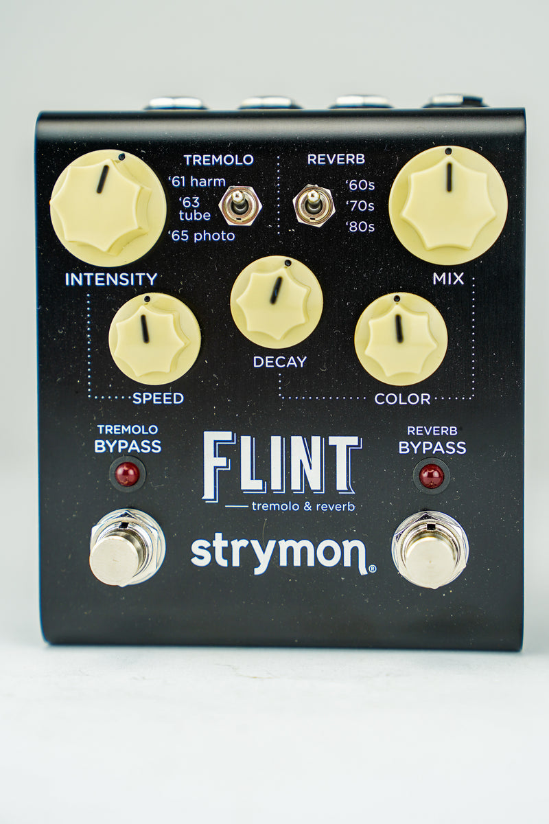 Strymon Z12A-5KTV Flint Tremolo and Reverb Pedal