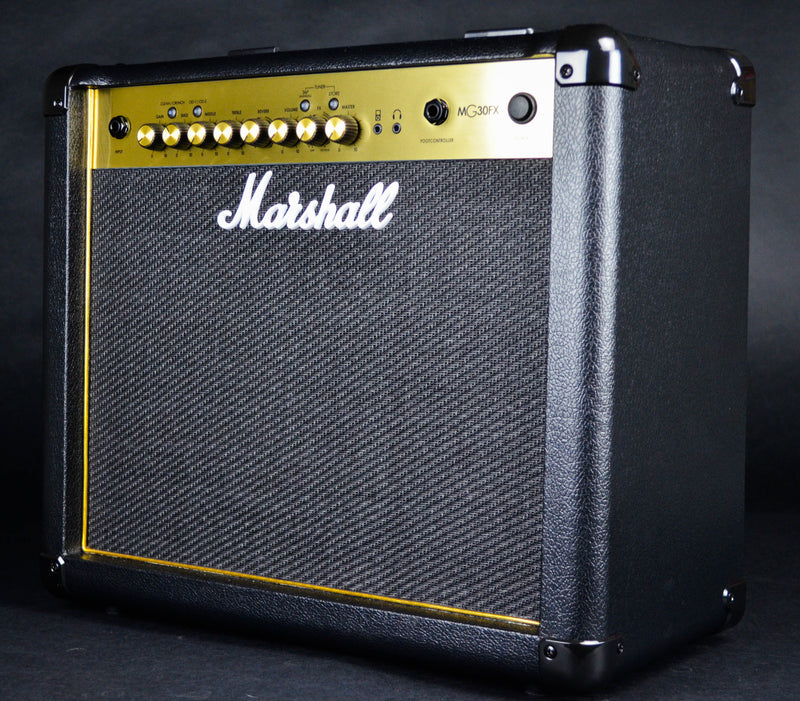 "Marshall MG30GFX 30W 1x10"" Combo w/4 Programmable Channels, FX, & MP3 Input"